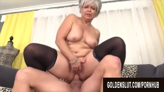 Golden Slut – Mature Babes Who Love Being on Top Compilation