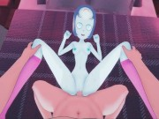 Pearl getting fucked from your POV, doggystyle orgasm - Steven Universe Hentai.