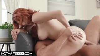 HotwifeXXX – Beautiful Redhead Big Tit Wife Keely Rose Loves Big Cock