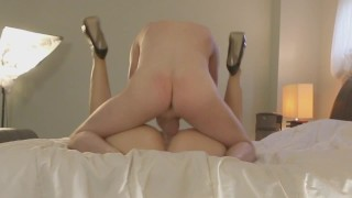 Hotwife gets missionary pounding by different cocks all day & night