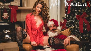 TOUGHLOVEX Crystal Taylor has a present for Bad Santa X