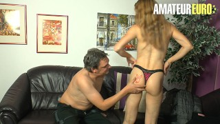 DeutschlandReport – Big Ass German Mature Hardcore Kinky Sex With Old Guy – AMATEUREURO