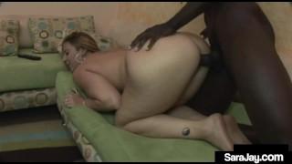 Big Titty Mom Sara Jay Sucks Fucks & Milks A Big Cum Shooter