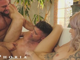 BiPhoria – Wife Catches Husband Fucking The Pool Boy
