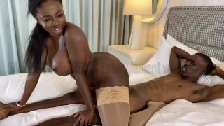 Ebony Rough Backshots