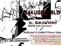 FUCKING BAKUGOU'S MOUTH LIKE- [My Hero Academia] [Full Version] Art: @bludwingart