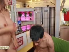 Lil Humpers Hot Busty Babe Lexi Luna Fucks Jordi's Big Dick Hard