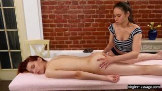 Beste gratis pornofilms - Virgin Massagepetite Redhead Tiener Met Grote Tieten Masseert Een Hete Roodharige Elvira Nunah
