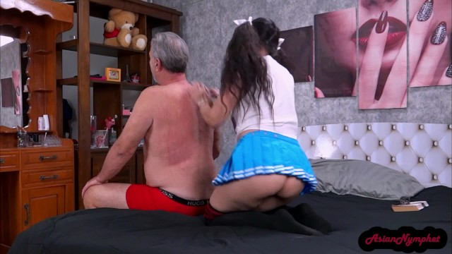 Step Daughter Sneaks Out & Sucks My Cock