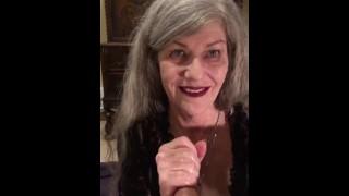 Sensual Sexy Mature MILF POV Eye Contact Red Lipstick ASMR CIM Swallow Deepthroat Throatpie