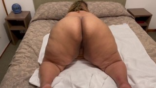 Doggie style with hooker in hotel - the biggest ass I've ever seen