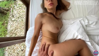 My sexy girlfriend made a home video and asked to help her