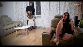 your slut wife gets caught by my boyfriend you are cuckold