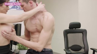 FOR WOMEN | Young latinos with big cocks Alberto Blanco and Tommy cabrio fuck a MILF
