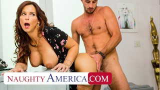 Naughty America – Syren De Mer gets young cock