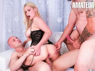 CastingAllaItaliana - Vittoria Dolce Slutty Ukrainian MILF Rough DP Threesome - AMATEUREURO