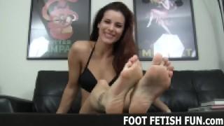 Femdom Foot Fetish And POV Feet Worshiping Videos