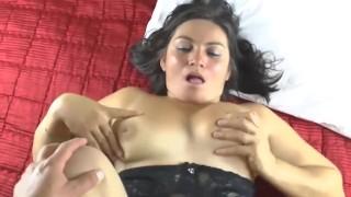 chubby mom gets cock