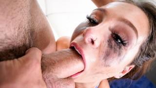 Throated Mia Moore Loves Super Sloppy Blowjob
