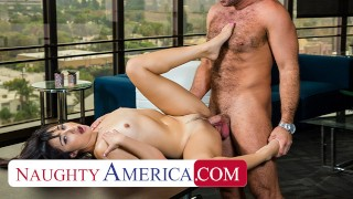 Naughty America – In order to secure a job, Isabella Nice puts her massage therapy skills to good us
