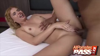 Curly Blonde Brazilian Patricia Kimberly Phat Ass Ride