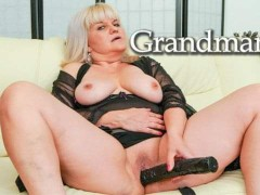 Granny Loves Playing with Her Worn Out Pussy