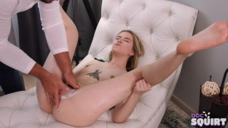 Stud fucks Clockwork Victoria and makes her squirt in 4K (UHD)