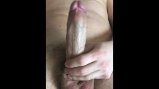 guy jerking off hairy cock -ARTEM SUCHKOV