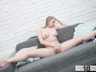MY18TEENS - Flexible big busty babe