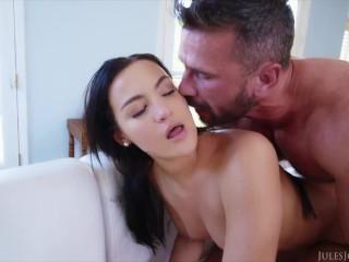 Jules Jordan - Come Get A Taste Of Mila Monet's Sweet Teen Ass