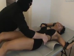 Courtney Tickled on Her Upperbody in a Swimsuit - (partial clip)