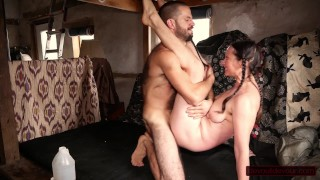 Hairy Couple Adores Long, Loving Fuck in Many Positions; Multiple Female Orgasms