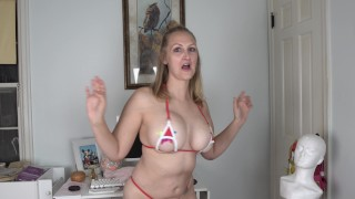 Sexy Sheer Lingerie And Micro Bikini Try On! YouTube Patreon Edition