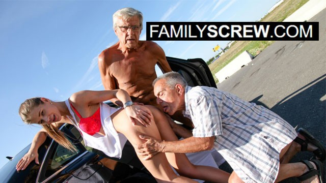Senior Citizens Know how to Fuck Fresh Pussy