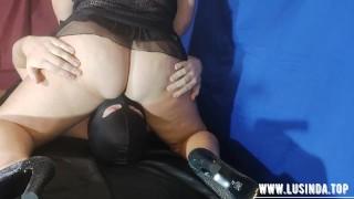 Amazing femdom facesitting big ass licking