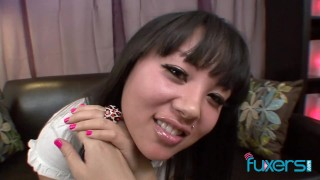 Facial on Asian Tina Lee