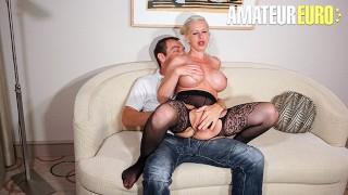 SexTapeGermany Manu Magnum Huge Tits German Blonde Close Up Pussy Fuck On Camera AMATEUREURO