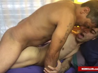 Faggots Getting Fucked by Macho Men