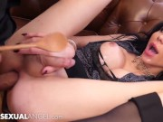 Beautiful TS Bailey Paris Fucked & Dominated - TranssexualAngel