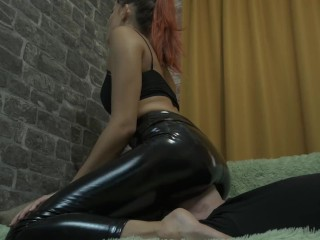Princess Face Sitting Ass Smothering Yoga Pants