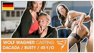 MILF DaCada wants Andy to bang her needy pussy good! WOLF WAGNER CASTING