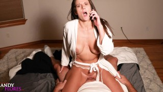 Hot Horny Teacher Shares Hotel Bed with Student HD Mandy Flores