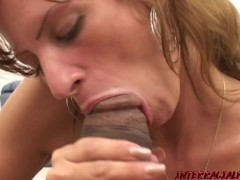 First Black Cock for sexy MILF Emma