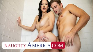 Naughty America – Diana Grace likes to show her husband the tricks of her sex working job