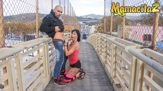 ChicasLoca – Suhaila Hard Big Booty Spanish MILF Wild Outdoor Fuck With Lucky Guy – MAMACITAZ