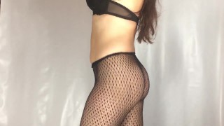 fishnet pantyhose try on haul hotlc youtube version