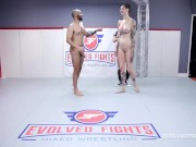 Nude Wrestling Fight With Rocky Emerson Battling Oliver Davis Then Getting A Fucking