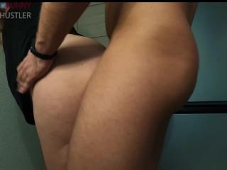 Big ass standing anal