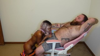 Pretty Little Black Puppy Gets Trained By Daddy Dom