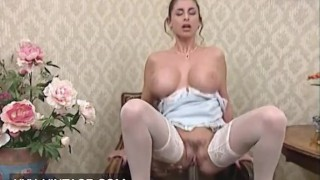 Huge tits Sarah Young enjoys BBC
